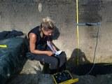 in-situ Widerstandsmessungen in Stolniceni