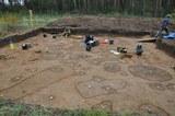 Ausgrabung am Fundplatz Dobbin 2019, Mecklenburg-Vorpommern