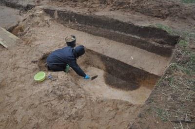 Fortsetzung der Grabung am Fundplatz Dobbin, Mecklenburg-Vorpommern