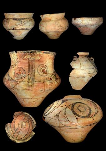 Keramikfunde aus Stolniceni 2017 (Foto: Sara Jagiolla, UFG)