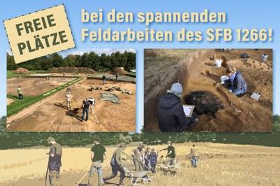 Freie Plätze bei Feldarbeiten des SFB1266