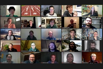 Screenshot CRC 1266 PhD workshop