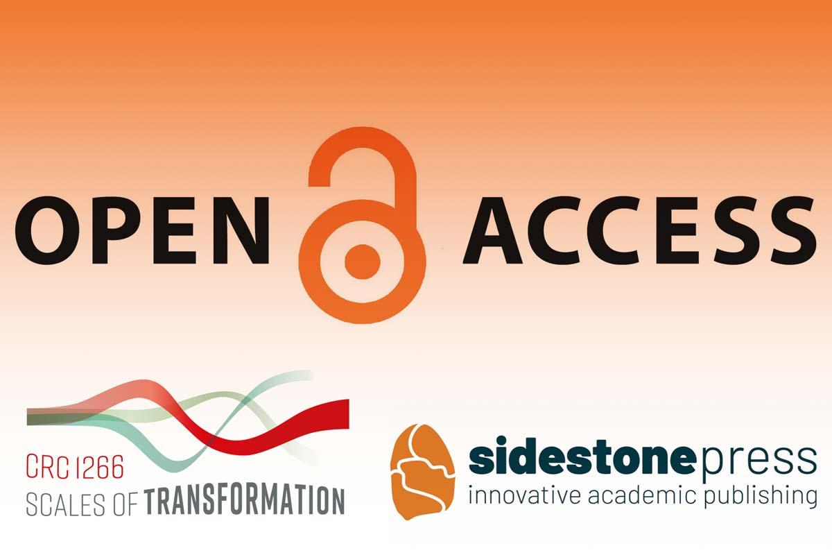 Logo Open Access, CRC1266 und Sidestone