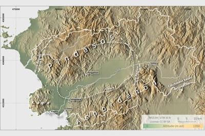 Map Pergamon