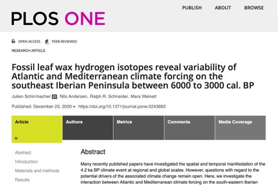 Plos One Artikel Schirrmacher