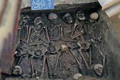 Massengrab Mittelalter