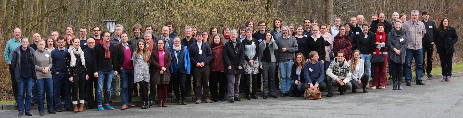 SFB members and guests Retreat Sankelmark