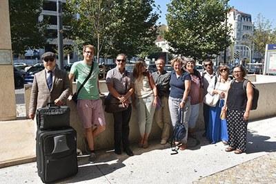"""Teilnehmer am Workshop """"Klima und Frühgeschichte in Süd-Iberien"""" in Lissabon 2018"""
