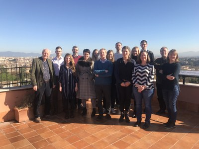 Participants of the workshop in Rome Photo DialPast