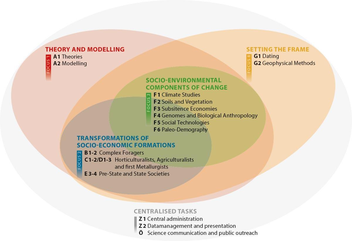 Grafik Focus-Cluster-Concept