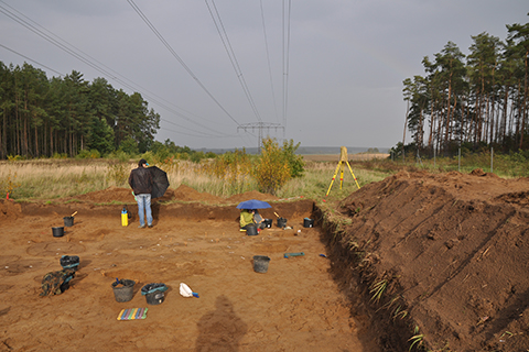 Excavation (D3 project) Dobbin 2019, Mecklenburg-Western Pomerania