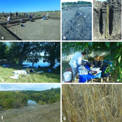 Archaeo-botanical fieldwork in summer 2016