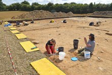 Ausgrabungen bei Bornhöved
