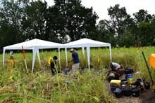 Ausgrabungen in 2018 des Fundplatzes Duvensee WP 10.