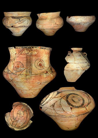 Ceramic finds from Stolniceni recovered in 2017 (Foto: Sara Jagiolla)
