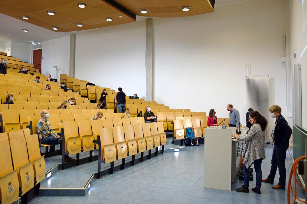 Mitgliederversammlung des SFB1266 in LS1
