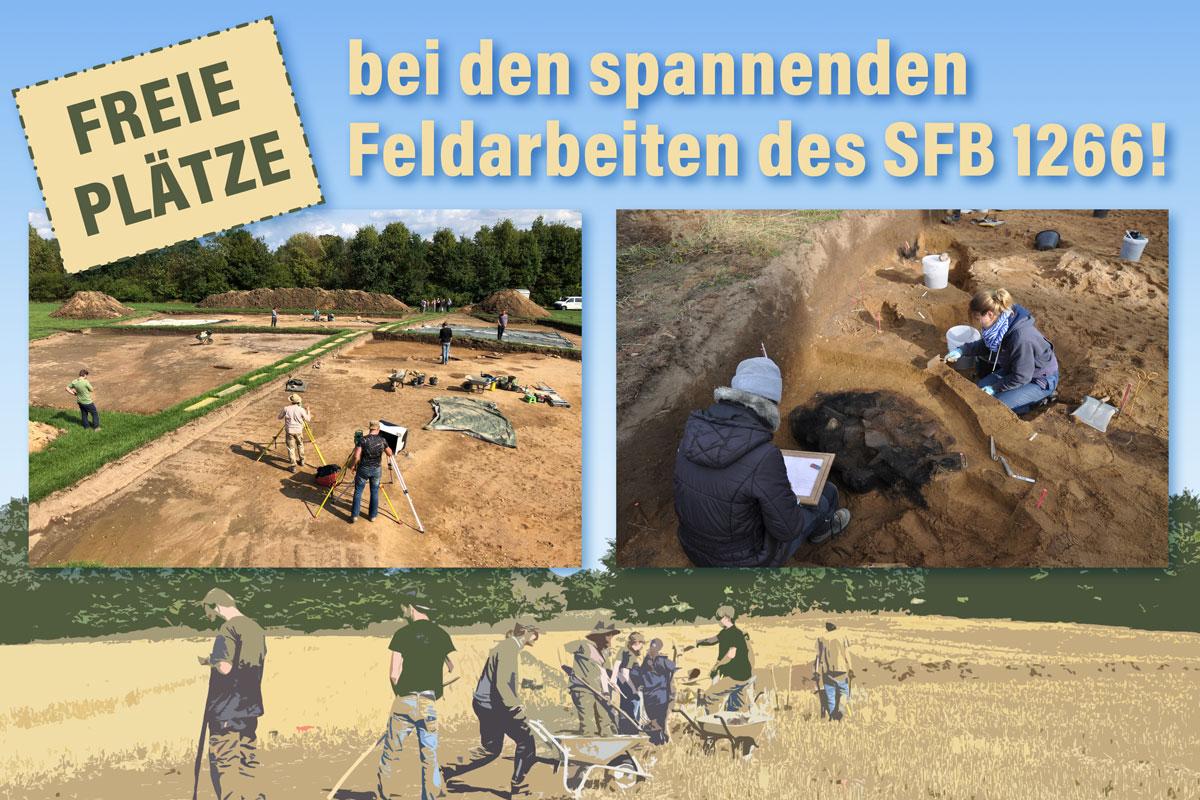 Freie Plätze bei Feldarbeiten des SFB1266 2021