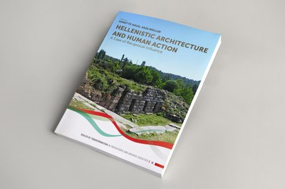 "Cover ""Hellenistic Architecture and Human Action"""