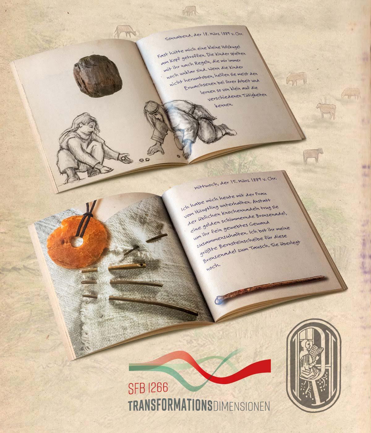 Beispielseiten aus dem Buch