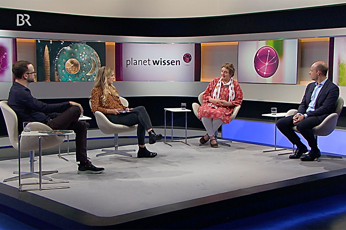 Dr. Jutta Kneisel bei Planet Wissen