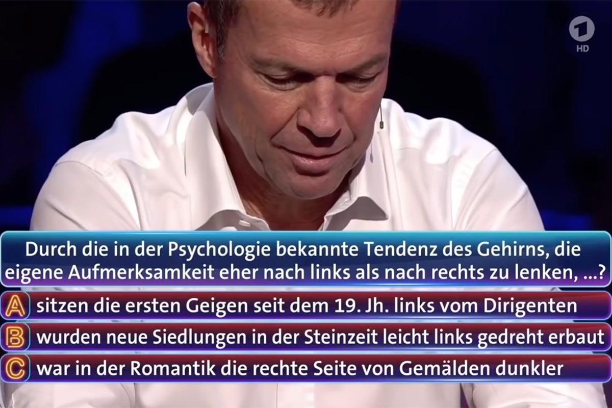 """Lothar Matthäus bei """"Wer weiß denn sowas?"""""""