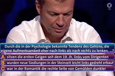 Lothar Matthäus at: Who knows that?