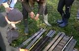 Geländearbeiten im Duvenseer Moor
