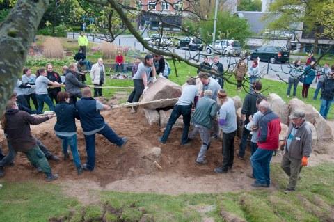 Nachbau Großsteingrab