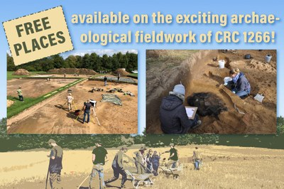 Free places on fieldwork of CRC1266