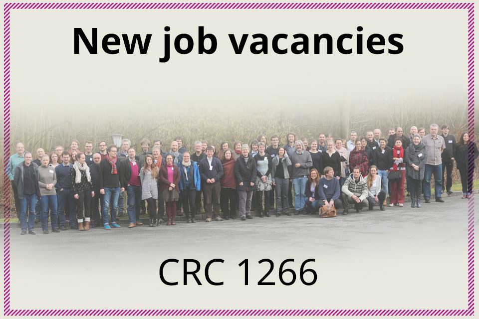 Job vacancies CRC 1266