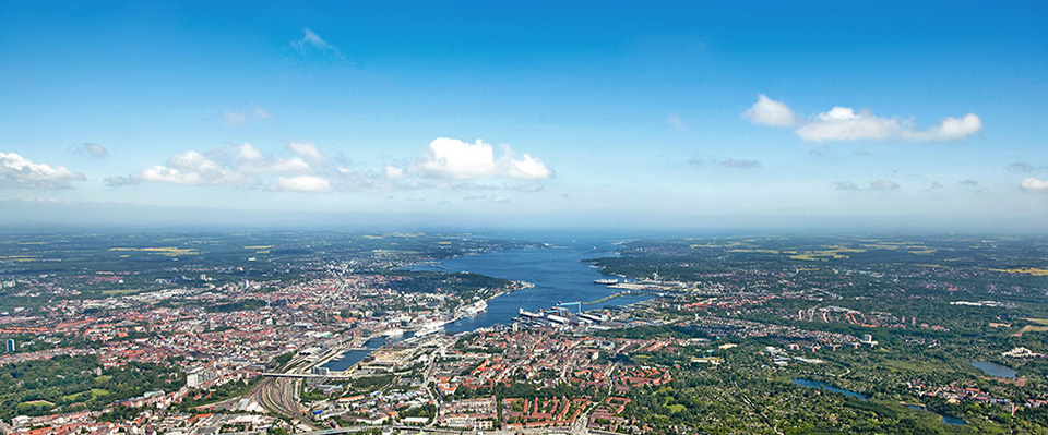 Kiel from above