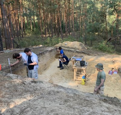 Final documentation of the profiles at the site the site Brunau