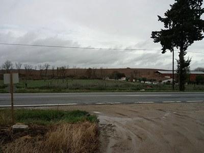Location of the site of Horta do Albardão