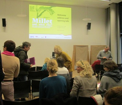 Millet workshop session
